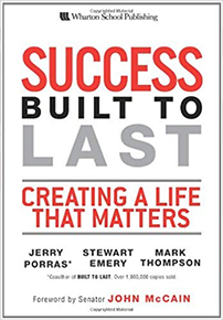 Stewart Emery author of Success Built to Last a cornerstone narrative for Success Made to Last